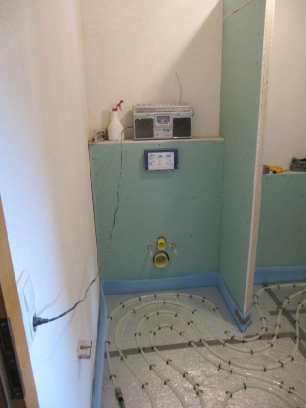 Renovierung und neugestaltung von b dern for Dusche trennwand